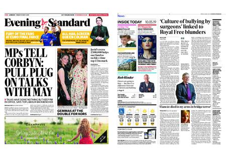London Evening Standard – May 10, 2019