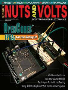Nuts and Volts - July 2016