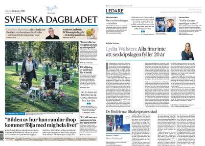 Svenska Dagbladet – 21 oktober 2019
