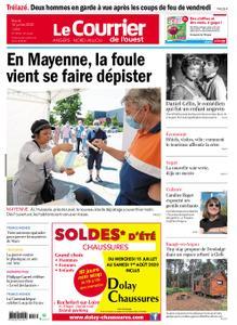 Le Courrier de l'Ouest Angers – 14 juillet 2020