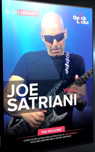 Lick Library - Quick Licks Joe Satriani Vol 2 (2017)