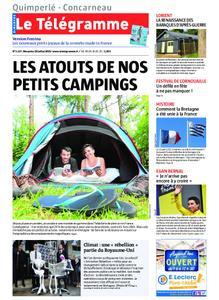 Le Télégramme Concarneau – 28 juillet 2019