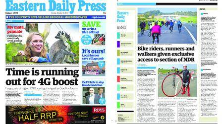 Eastern Daily Press – October 30, 2017