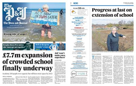 The Press and Journal Moray – April 22, 2021