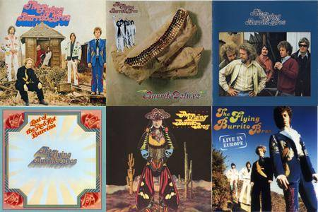 The Flying Burrito Bros: CD Collection (1968-1990)