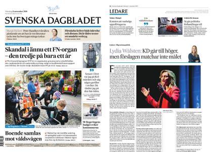 Svenska Dagbladet – 11 november 2019