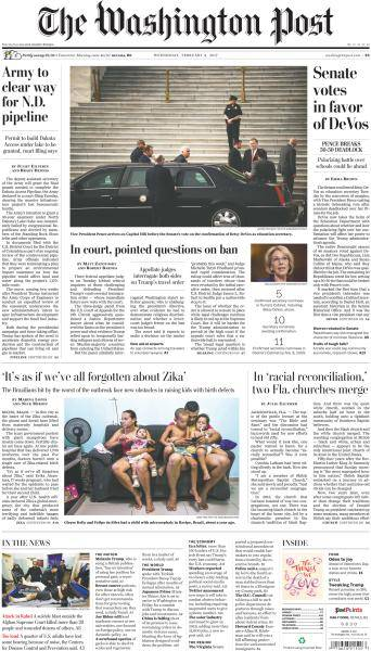 The Washington Post - February 8, 2017
