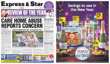 Express and Star Sandwell Edition – December 30, 2019