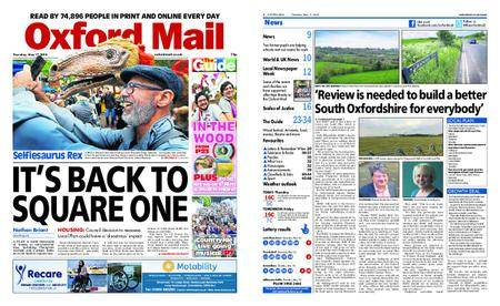 Oxford Mail – May 17, 2018