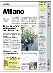 la Repubblica Milano - 7 Gennaio 2019