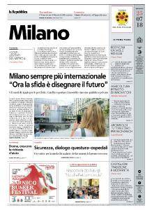 la Repubblica Milano - 25 Luglio 2018