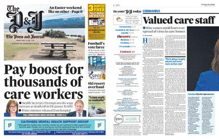 The Press and Journal Moray – April 13, 2020