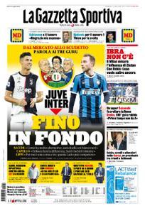 La Gazzetta dello Sport Roma – 02 febbraio 2020