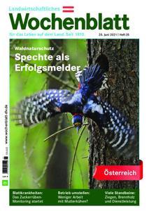 Bayerisches Landwirtschaftliches Wochenblatt Oesterreich - 24. Juni 2021