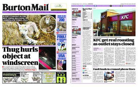 Burton Mail – February 21, 2018