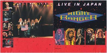 Night Ranger - Live In Japan (1990)