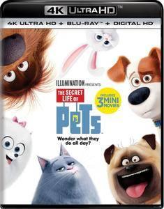 The Secret Life of Pets (2016) [4K, Ultra HD]