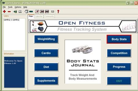 Athlete Tracker v1.0 by Workoutware.com