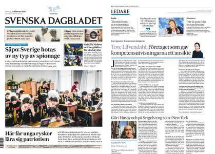 Svenska Dagbladet – 23 februari 2018