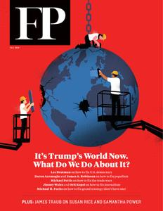 Foreign Policy - October 17, 2019