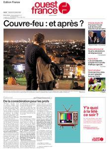Ouest-France Édition France – 24 octobre 2020