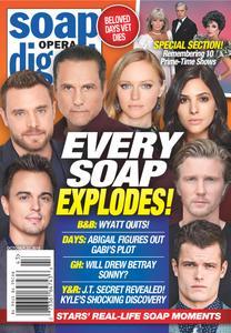 Soap Opera Digest - October 22, 2018