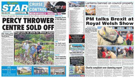 Shropshire Star Shrewsbury Edition – July 27, 2018