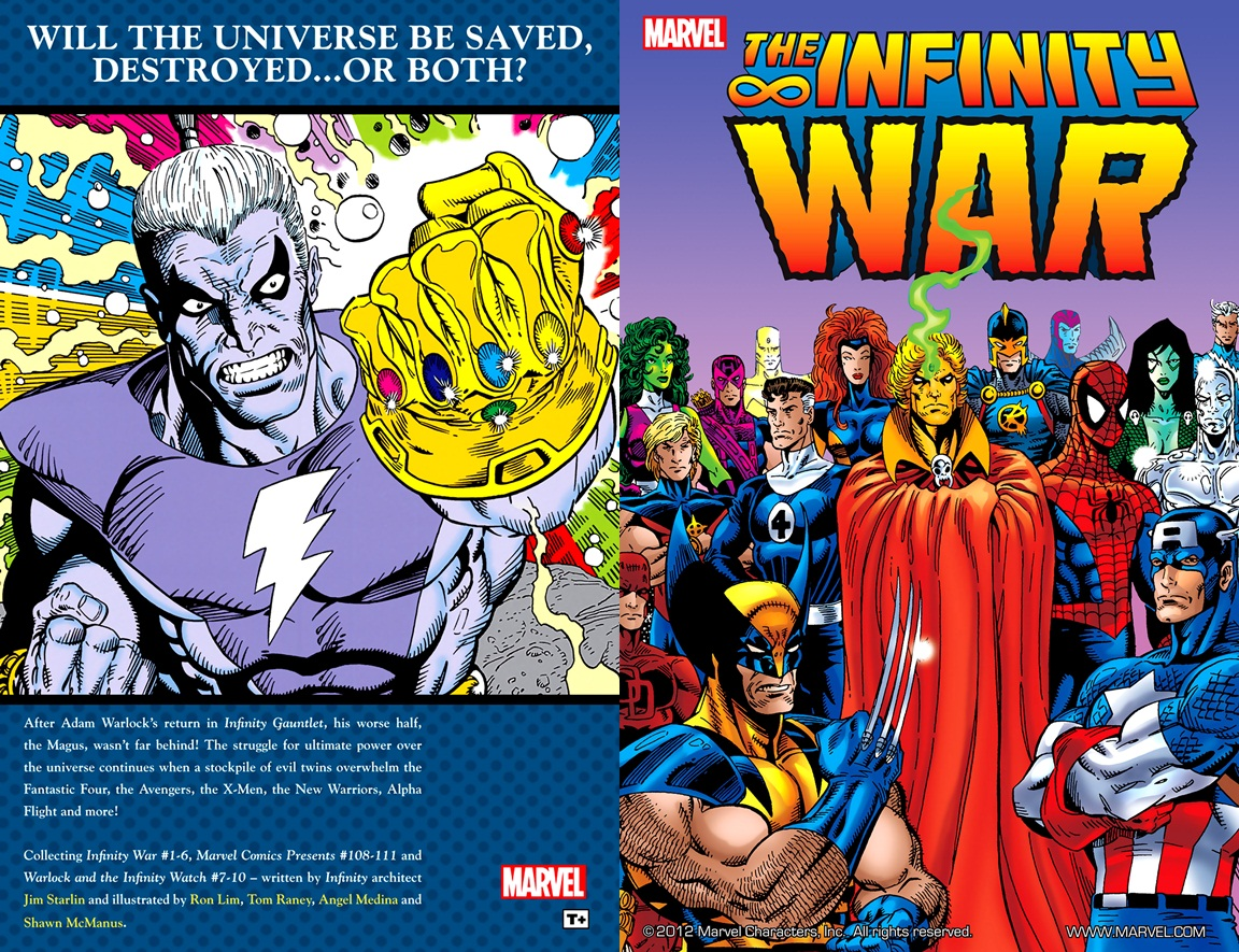 The Infinity War Collected Edition 2006 02 00 Tpb