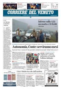 Corriere del Veneto Vicenza e Bassano – 22 febbraio 2019