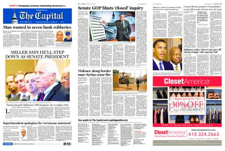 The Capital – October 25, 2019