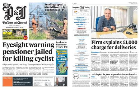 The Press and Journal Moray – July 21, 2020