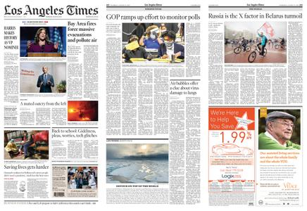 Los Angeles Times – August 20, 2020
