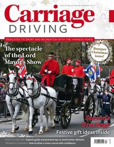 Carriage Driving - December 2019