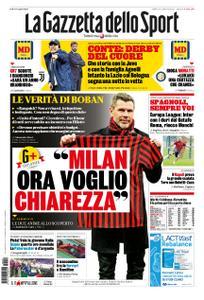 La Gazzetta dello Sport Roma – 29 febbraio 2020
