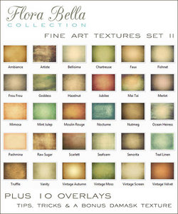 Fine Art Textures Set II