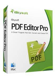 iSkysoft PDF Editor Pro with OCR for Mac 5.7.0