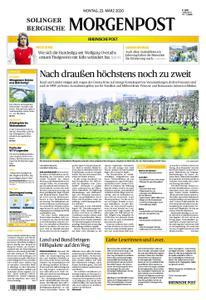 Solinger Morgenpost – 23. März 2020