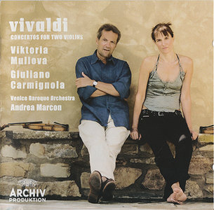 Antonio Vivaldi - Viktoria Mullova - Double Concertos (2008, Archiv Produktion # 477 7466) [RE-UP]
