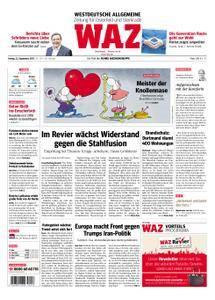 WAZ Westdeutsche Allgemeine Zeitung Oberhausen-Sterkrade - 22. September 2017