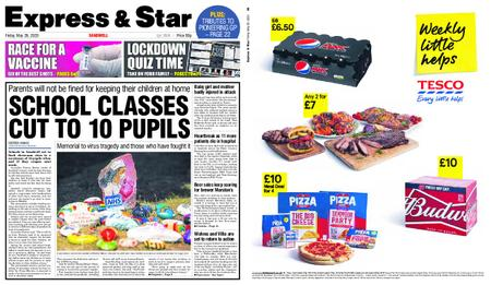Express and Star Sandwell Edition – May 29, 2020