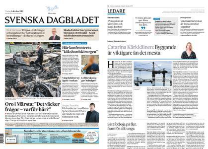 Svenska Dagbladet – 08 oktober 2019