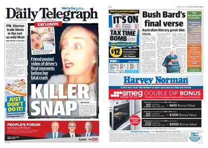 The Daily Telegraph (Sydney) – April 30, 2019