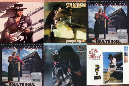 Stevie Ray Vaughan and Double Trouble - MFSL Collection (5x SACD, 1983-1991) [PS3 ISO + Hi-Res FLAC]