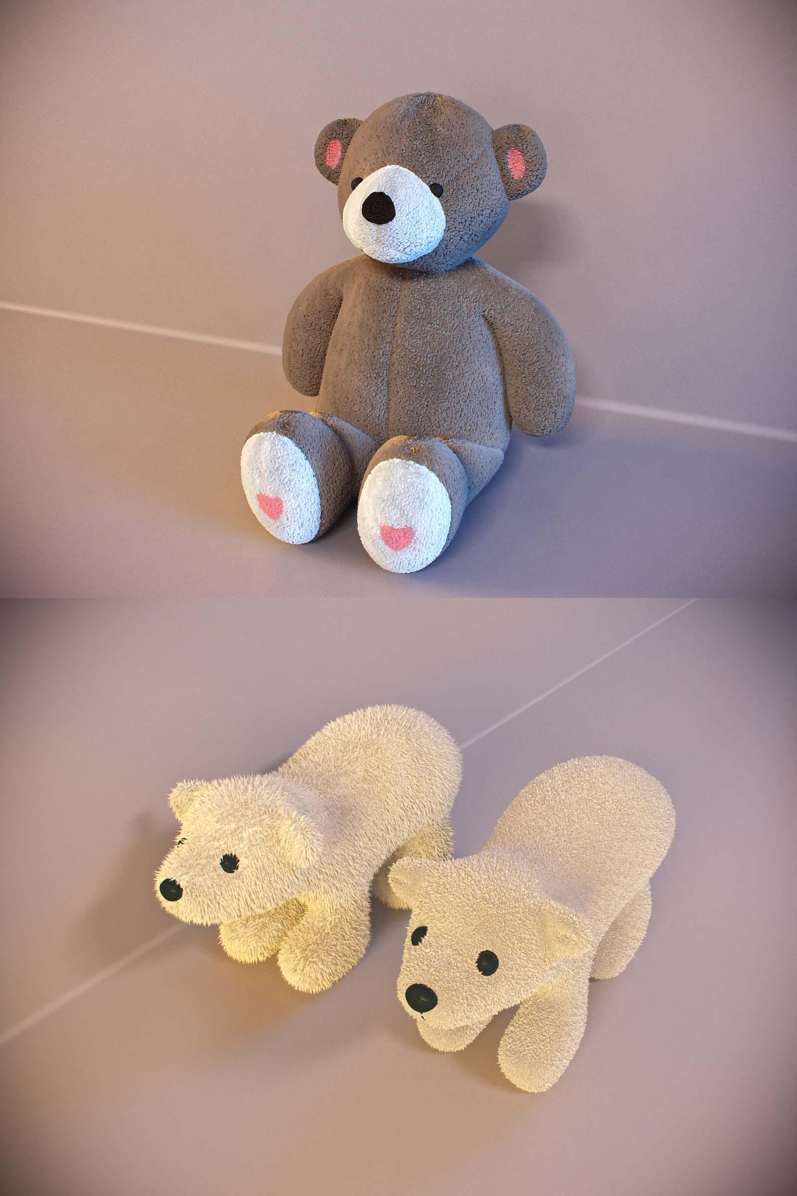 3D models of bears