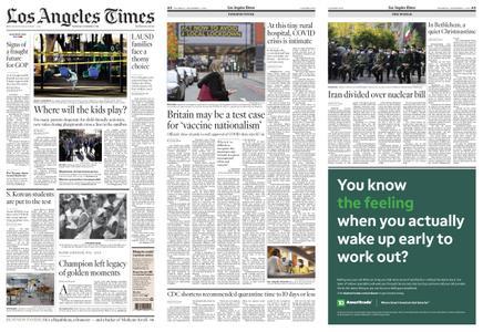 Los Angeles Times – December 03, 2020