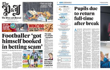 The Press and Journal Moray – April 07, 2021