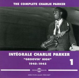 """Charlie Parker - Intégrale Charlie Parker, Vol. 1, """"Groovin' High"""", 1940-1945 (2010) {3CD Set Frémeaux & Associés FA1331}"""