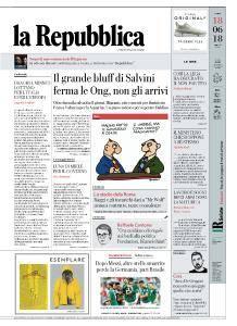 la Repubblica - 18 Giugno 2018