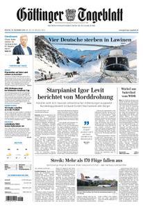 Göttinger Tageblatt – 30. Dezember 2019