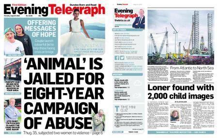 Evening Telegraph First Edition – August 02, 2018